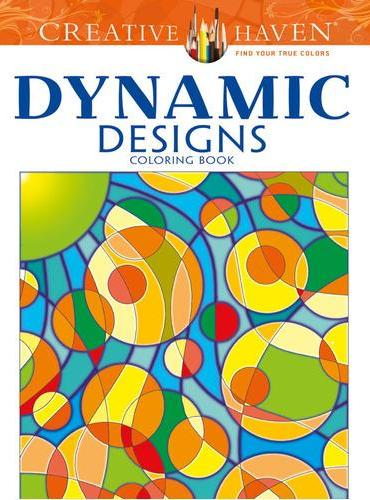 Creative Haven Dynamic Designs Coloring Book