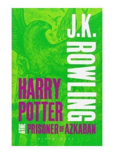 Harry Potter and the Prisoner of Azkaban哈利波特与阿兹卡班的囚徒(英国成人版,平装)ISBN9781408834985