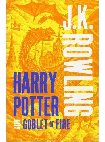Harry Potter and the Goblet of Fire哈利波特与火焰杯(英国成人版,平装)ISBN9781408834992