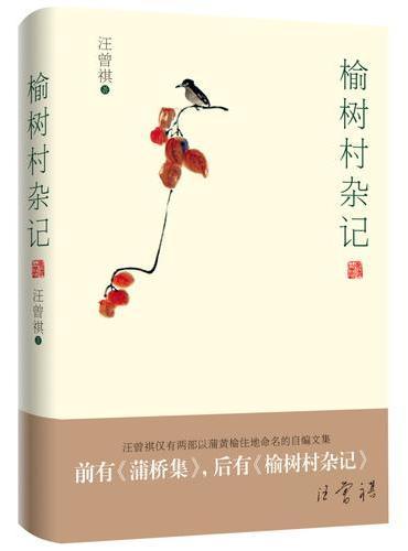榆树村杂记(与《蒲桥集》堪称双璧,汪曾祺仅有两部以蒲黄榆住地命名的自编文集!布面精装典藏版!)