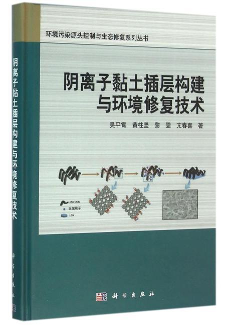 阴离子黏土插层构建与环境修复技术