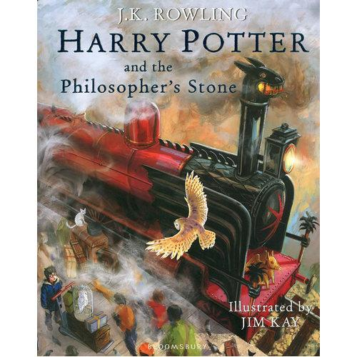 Harry Potter and the Philosopher's Stone (Illustrated Edition)哈利波特与魔法石(英国精装插图版)ISBN9781408845646