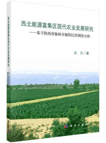 西北能源富集区现代农业发展研究-基于陕西省榆林市榆阳区的调查分析