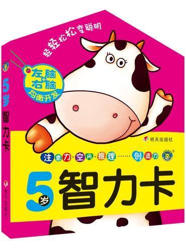 河马文化--5岁智力卡