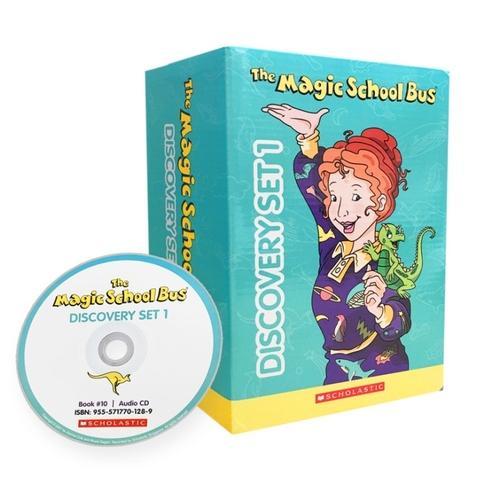 Magic School Bus Discovery Set1 (with CD)神奇校车·桥梁书版(第一辑10册+进口原版CD)ISBN 9555717701067