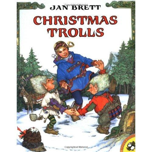 Christmas Trolls (by Jan Brett)圣诞歌ISBN9780698118461
