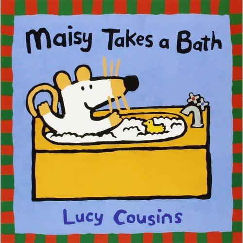 Maisy Takes a Bath小鼠波波洗澡ISBN9780763610845