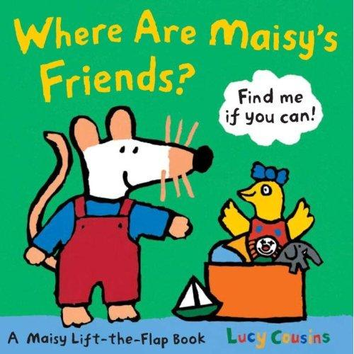 Where Are Maisy's Friends?(Boardbook)小鼠波波的朋友哪儿去了?(卡板书)ISBN9780763646691