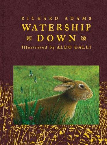 Watership Down(Scribner Illustrated Classics) 兔子共和国(名家插图版,精装)ISBN9781442444058