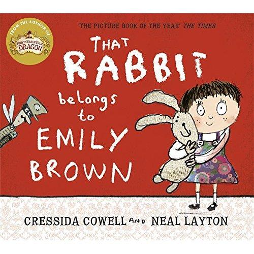 That Rabbit Belongs To Emily Brown这是艾米丽的小兔!ISBN9781444923414