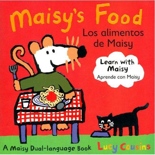 Maisy's Food Los Alimentos de Maisy(Boardbook)小鼠波波的好吃的(英语-西班牙语对照,卡板书)ISBN9780763645199