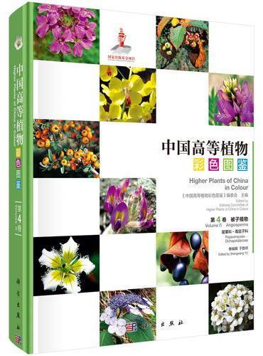 中国高等植物彩色图鉴  第四卷 被子植物 罂粟科—毒鼠子科