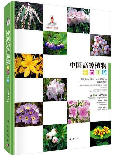 中国高等植物彩色图鉴  第六卷  被子植物  岩梅科—茄科