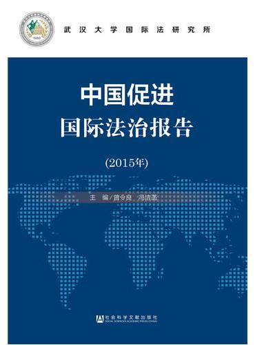 中国促进国际法治报告(2015年)