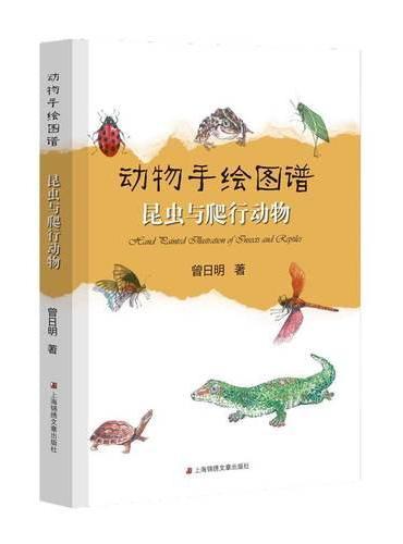 动物手绘图谱·昆虫与爬行动物