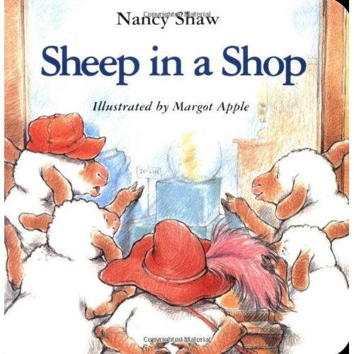 Sheep in a Shop [Board book]绵羊去商店[卡板书]ISBN9780395872765