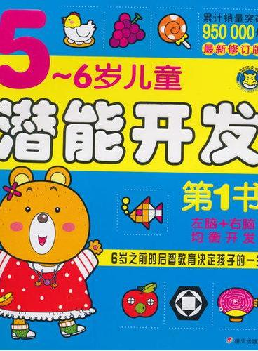 河马文化--5-6岁儿童潜能开发第1书