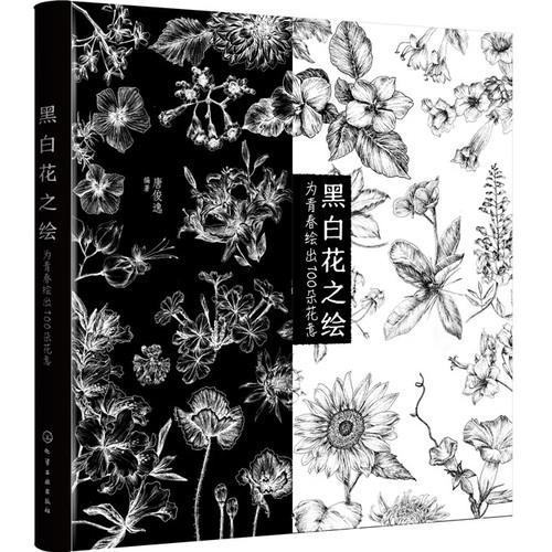 黑白花之绘——为青春绘出100朵花意