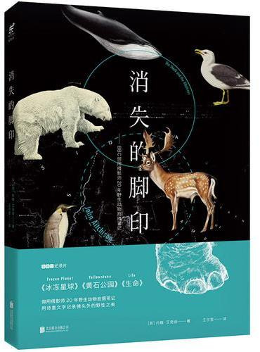 消失的脚印:BBC御用摄影师20年野生动物拍摄笔记