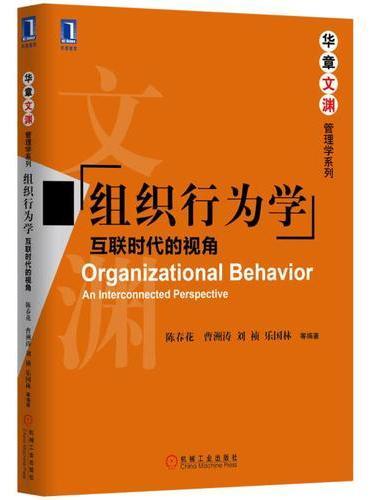 组织行为学:互联时代的视角