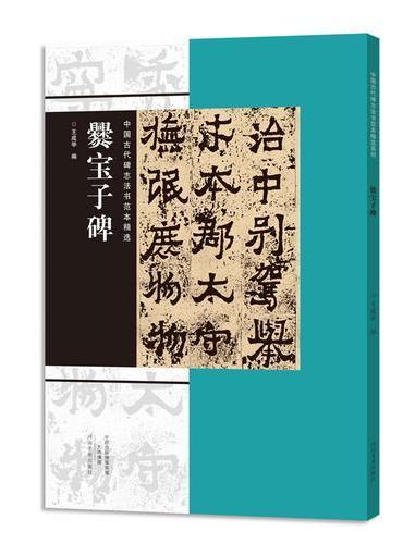 中国古代碑志法书范本精选  爨宝子碑