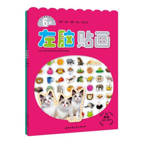 左右脑开发6~7岁套装(4册)