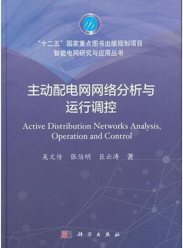 主动配电网网络分析与运行调控