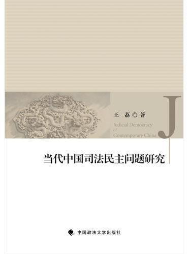 当代中国司法民主问题研究