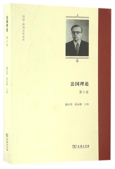 法国理论(第六卷)(同济·欧洲文化丛书)