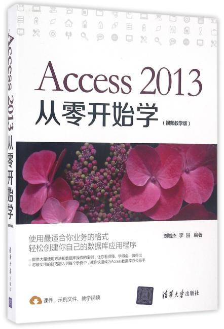 Access 2013从零开始学(视频教学版)