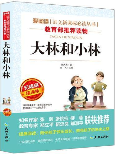 大林和小林/语文新课标必读丛书分级课外阅读青少版(无障碍阅读彩插本)