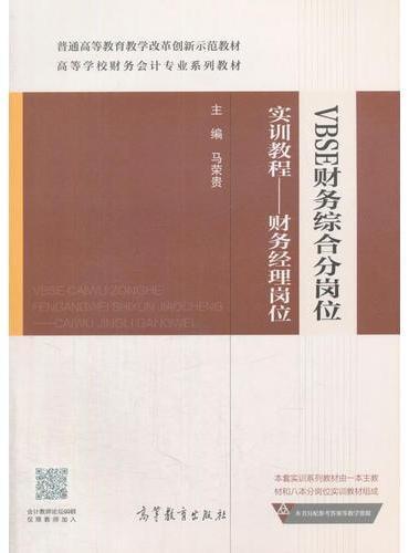 VBSE财务综合分岗位实训教程--财务经理岗位