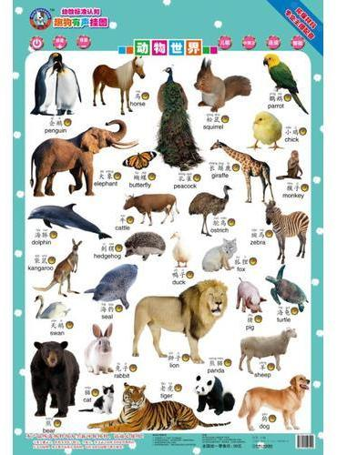 趣狗有声挂图 动物世界