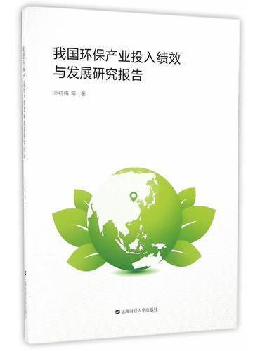 我国环保产业投入绩效与发展研究报告