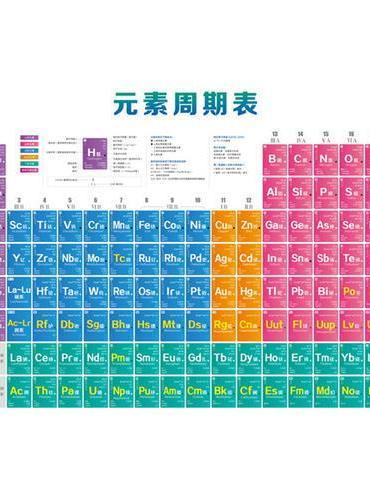 元素周期表挂图