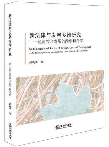 新法律与发展多维研究:趋向综合发展的跨学科考察