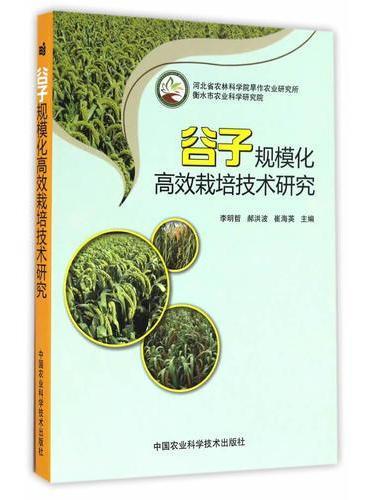 谷子规模化高效栽培技术研究