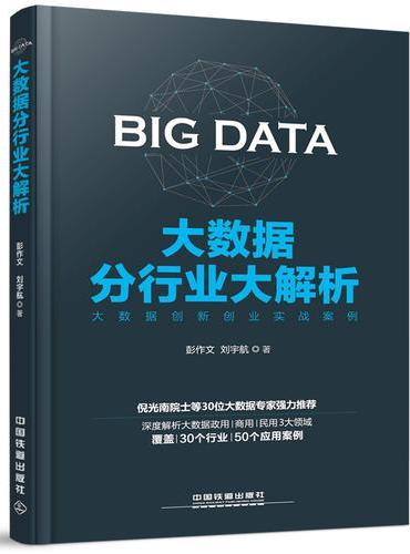 大数据分行业大解析