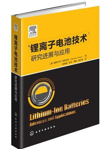 锂离子电池技术——研究进展与应用