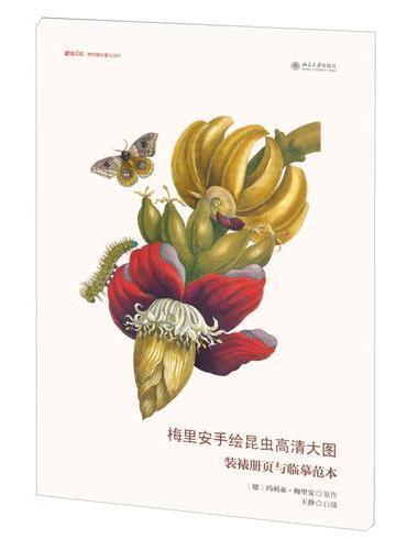 梅里安手绘昆虫高清大图:装裱册页与临摹范本