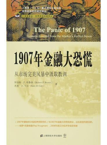 1907年金融大恐慌:从市场完美风暴中汲取教训(引进版)