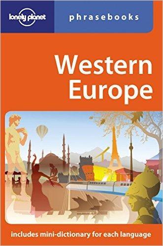 Western Europe Phrasebook 4(ISBN=9781741040593)