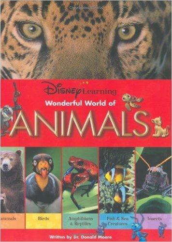 Disney Learning: Wonderful World of Animals 迪士尼科普:神奇的动物世界1(精装) ISBN9780786849611