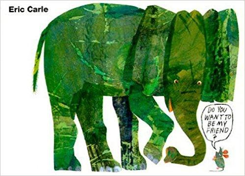 Eric Carle: Do You Want to Be My Friend? 你想和我做朋友吗?(卡板书) ISBN9780694007097