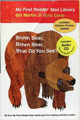 Brown Bear, Brown Bear, What Do You See?艾瑞·卡尔Eric Carle 英文原版绘本(附CD)