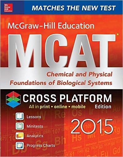 MCGRAW-HILL EDUCATION MCAT CHEMICAL AND