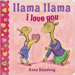 Llama Llama I Love You [Board Book]羊驼拉玛我爱你[卡板书]ISBN9780451469816