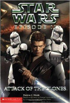 Star Wars Episode II: Attack of the Clones 星球大战前传2:克隆人的进攻 ISBN9780439139281