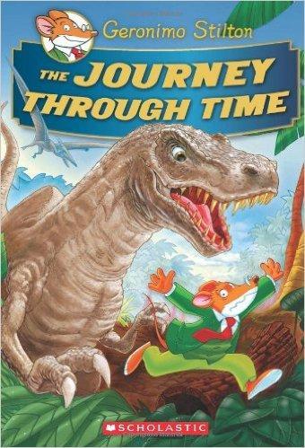 Geronimo Stilton Special Edition: The Journey Through Time 老鼠记者特别版:时间之旅(精装) ISBN9780545556231