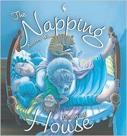 The Napping House(Board Book)打瞌睡的房子(荣获金风筝奖,卡半书)ISBN9780544602250